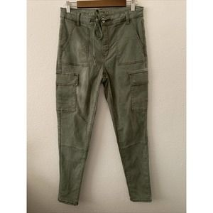 American Eagle size 12 Green High Rise Cargo